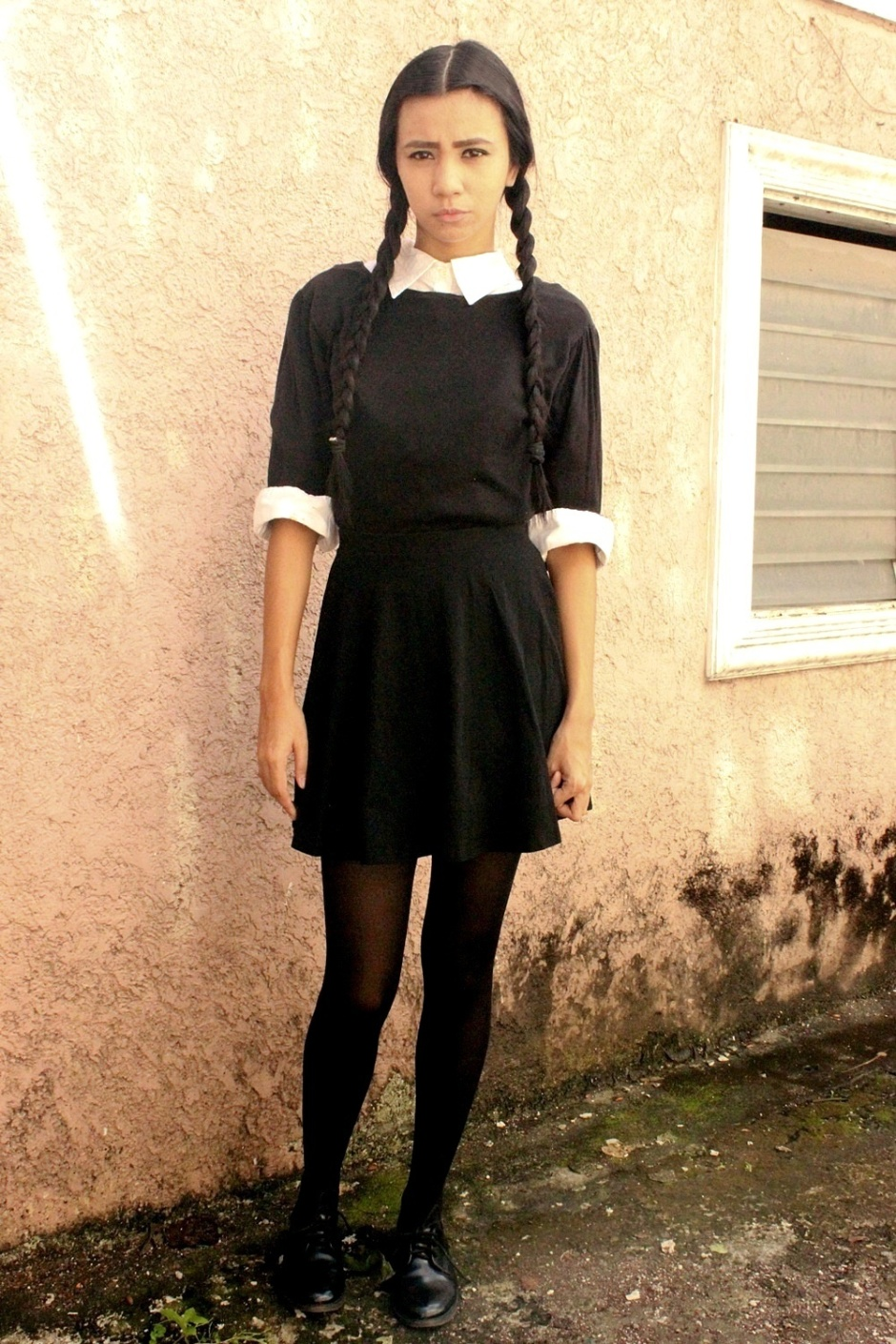 wednesday addams halloween costume diy wednesday costume lyndsay picardal 30530